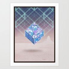 Mindscape Marbled Art Print