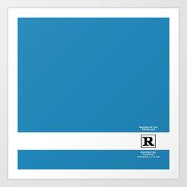 Rated R Art Print