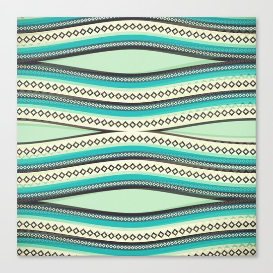 Sea Geometry Canvas Print