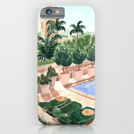 Moroccan Hotel iPhone Case