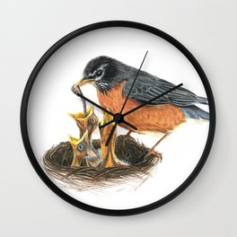 Robins Wall Clock
