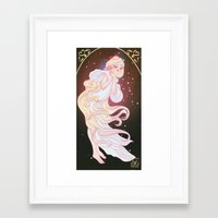 sailor venus Framed Art Prints featuring Sailor Venus by Dixie Leota