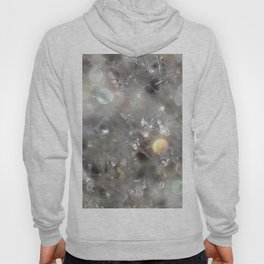 Crystalline connections - Abstract Photography by Fluid Nature Hoody