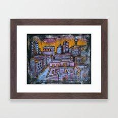 Brooklyn Nocturne 5 Framed Art Print