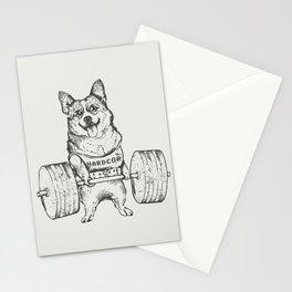 Corgi Lift Stationery Cards