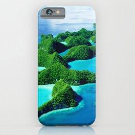Glimpses of Heaven: Palau 70 Islands In Micronesia iPhone Case