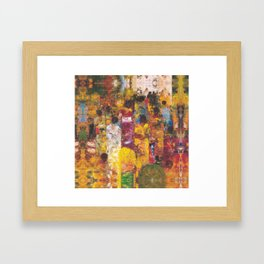 Procession Framed Art Print
