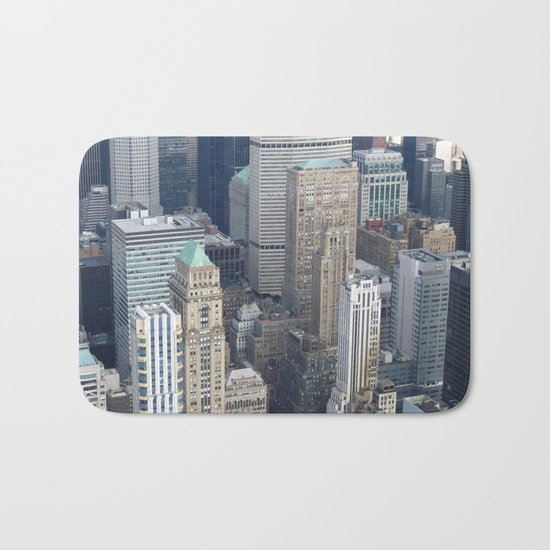 Manhattan Morning Bath Mat