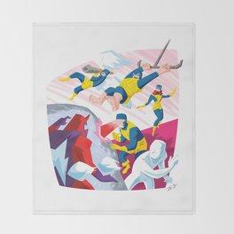 Uncanny X-Men Throw Blanket