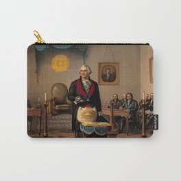 Washington As Master Mason - Anonymous portrait of George Washington. Carry-All Pouch