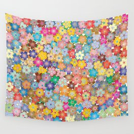 Cherry Blossom Flowers Wall Tapestry