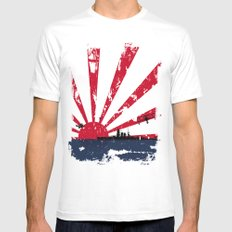 Imperial Japanese Navy 2X-LARGE White Mens Fitted Tee