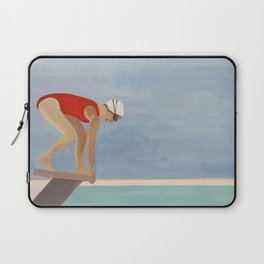 Swimmer Laptop Sleeve