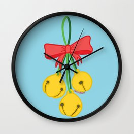 Ding Dong Merrily On High Wall Clock