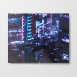 No sleep in the city Metal Print