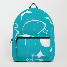 Winter Elf Icy Blue Backpack