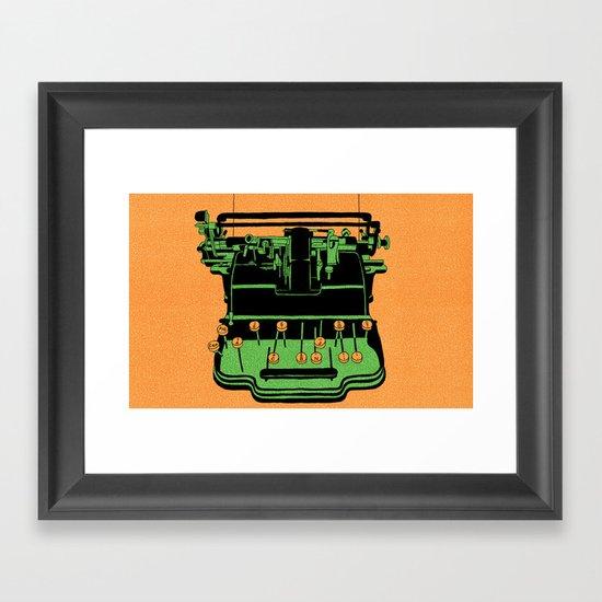 """An Object"" by Steven Fiche Framed Art Print"