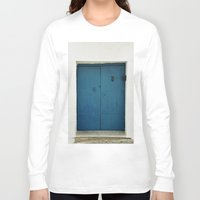 door Long Sleeve T-shirts featuring Door by Those Lucky Days