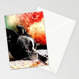 Boston Terrier (Jake) Stationery Cards