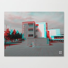 Bauhaus · Das Bauhaus 2 Canvas Print