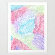 Chalking Around Art Print
