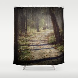 Wicked Woods Shower Curtain