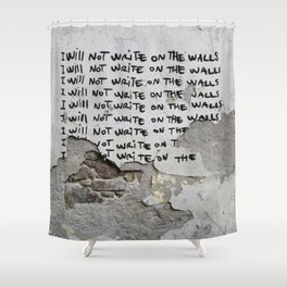 Punishment Shower Curtain