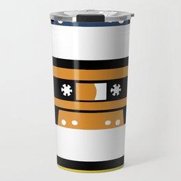 Rainbow Black Tapes Travel Mug