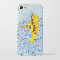 yellow submarine iPhone & iPod Cases featuring My Yellow Submarine by Cris Couto