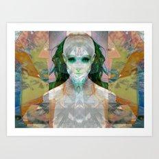 machina ex femina Art Print