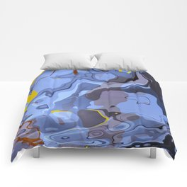 Abstract Composition 548 Comforters