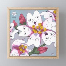 Season of Hanami Framed Mini Art Print