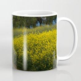 Almaden Meadows' Mustard Blossoms Coffee Mug