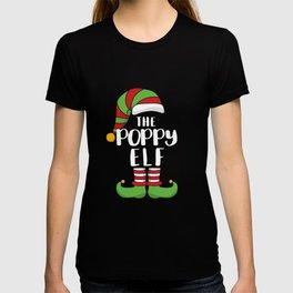 The Poppy Elf Dad Christmas T-Shirt T-shirt