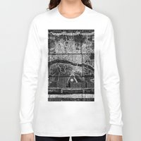 london map Long Sleeve T-shirts featuring London Map by Le petit Archiviste