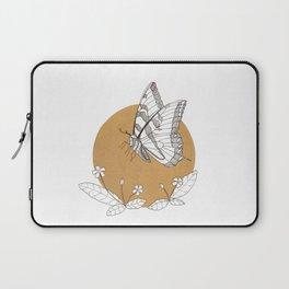 Butterfly & Primrose Laptop Sleeve