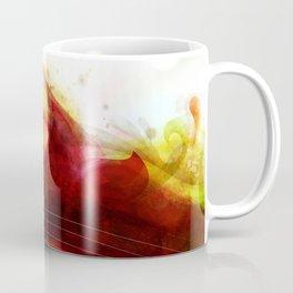 Abstract Splats by Friztin Coffee Mug