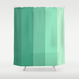 Mint Water Shower Curtain