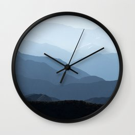 Andes mountains. Wall Clock