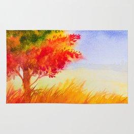 Autumn scenery #9 Rug