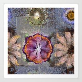 Stickball Au Naturel Flower  ID:16165-150329-07211 Art Print