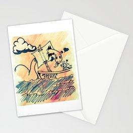 Nessie's New Friend Stationery Cards