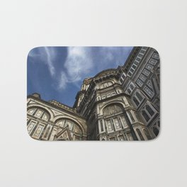 Streets of florence Bath Mat