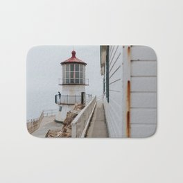 Point Reyes Lighthouse up close Bath Mat