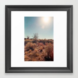 Santa Fe Framed Art Print