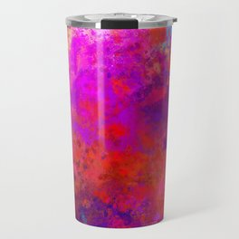 Colorful Splatter Travel Mug