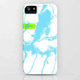 Brave, the dog iPhone Case