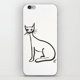 Cat Drawing iPhone Skin