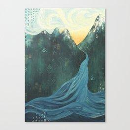 Make Your Mark Canvas Print