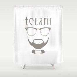 Tchami Shower Curtain